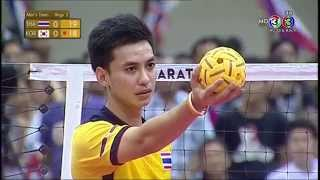 [THA-KOR] 30th King's Cup Sepaktakraw Men's Team B Set1