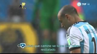 Showmatch 2014 - Emotivo video en Showmatch: así llegó Argentina a la final