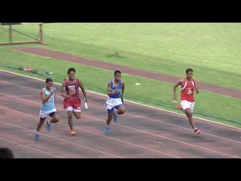 4x100m Finals Boys - Tonga Inter-Collegiate Athletics