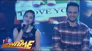 Billy Crawford & Coleen Garcia in a special Valentine number