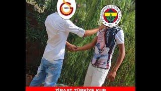 Galatasaray Fenerbahçe Ziraat Kupası Derbi CAPS'leri herkesi güldürdü!