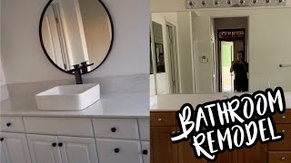 OUR BATHROOMS ARE FINALLY DONE!!