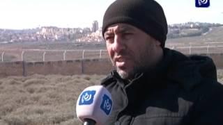 أهالي قرية الجديرة بالقدس يعانون نتيجة جدار الفصل العنصري (13-1-2017)