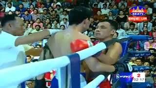 Tes Ghyvha Cambodia Vs Fhanimit, Thailand, Khmer Warrior Boxing Seatv Boxing 19 August 2018
