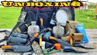 Massive Unboxing! Camping • Hunting • Survival Gear | Largest One Yet!