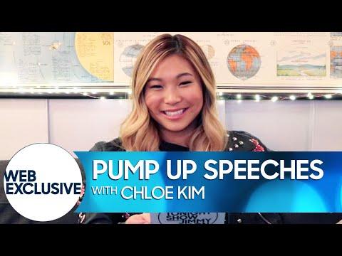 Pump Up Speeches: Still Being Afraid of the Dark (Chloe Kim)