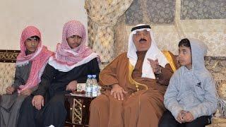 """سمو الأمير متعب بن عبدالله يعزّي أسرة الشهيد العريف . نائر بن غازي البقمي """"رحمه الله"""" ."""