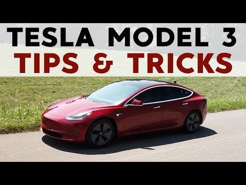 Tesla Model 3 Top 20 Tips & Tricks