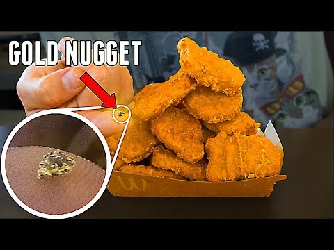 How Many Chicken Nuggets Can You Buy With A Gold Nugget