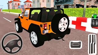 My Holiday Car | Green Sport Car, Orange Jeep Driving | Android GamePlay