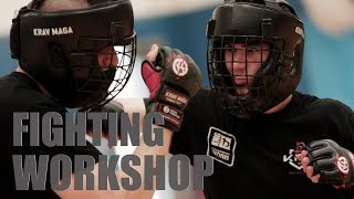 How Krav Maga Students do Sparring. Krav Maga Fighting Workshop 2017