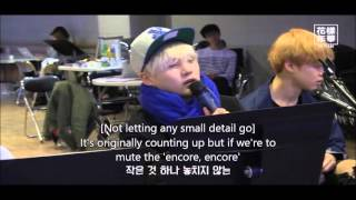 [ENG] Practice Never Mind cut - BTS 2015 live HYYH on stage