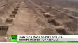 Iran prepares mass graves for U.S. Troops - RT News