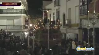 Cristo de la Lanzada procesiona en Ayamonte