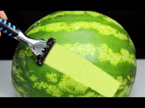 EVDE YAPABİLECEĞİNİZ 9 EN HAVALI İPUCU Simple Watermelon Hacks 🍉