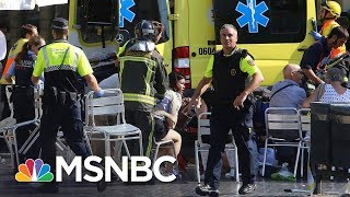 Barcelona Eyewitness: A 'Tidal Wave' Of People Ran From Attack | MSNBC