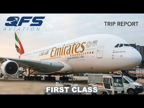 TRIP REPORT Emirates A380 Milan MXP to New York JFK First Class