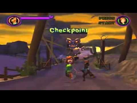PS2 Walkthrough Scooby Doo Spooky Swamp Part 8