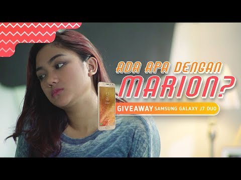 Xxx Mp4 Ada Apa Dengan Marion Episode 2 Giveaway Samsung Galaxy J7 Duo 3gp Sex