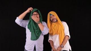 Bila Si Jejaka 'First Time' Pakai Tudung Ala-ala Hijabista