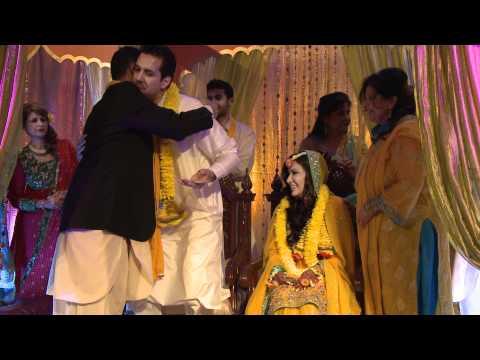 Pakistani Fariha & Khurrum Mehndi Ceremony By Rama Photo Video