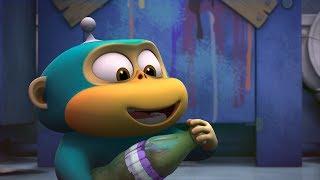 Alien Monkeys 🐞🐵 Cicada - Animation for Kids