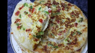 Omelette  Paretha Recipe By AAmna