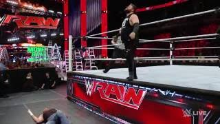 Dean Ambrose vs. Kevin Owens: Raw. June 6, 2016
