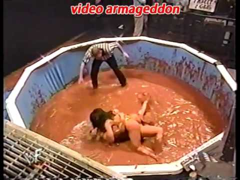 Xxx Mp4 WWF Ms Kitty Vs Tori For The Womens Title In Chocolate Pudding ► HD WWE 3gp Sex