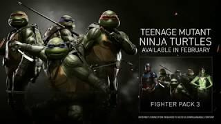 Injustice 2 TMNT Trailer - Michelangelo, Raphael, Donatelo, Leonardo
