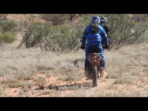 R 1200 GS vs Super Tenere Adam Riemann goes outback