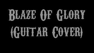 Blaze Of Glory - Bon Jovi (Guitar Cover With Lyrics & Chords)