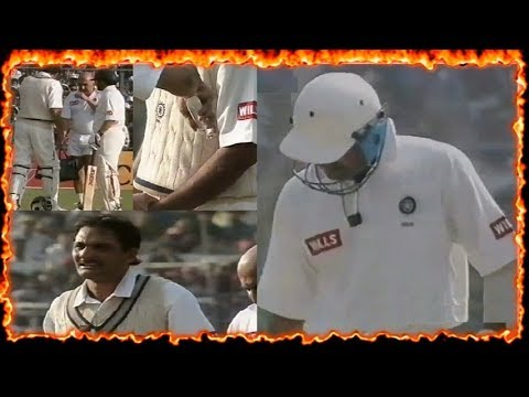Wounded and Angry Azharuddin Slams a Brutal 75 Ball Century PAINTBRUSH TURNS INTO A SLEDGEHAMMER