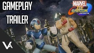 Marvel Vs. Capcom Infinite - Gameplay Reveal Trailer (1080p 60fps)