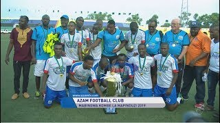 AZAM 2-1 SIMBA: HIGHLIGHTS & SHANGWE ZA UBINGWA (FAINALI MAPINDUZI CUP 2019)