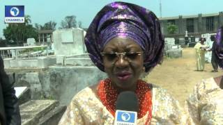 Metrofile: Madam Omolara Anthony Laid To Rest