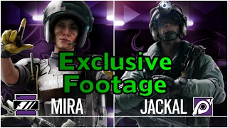 Amazing Mira & Jackal Tricks - Exclusive Rainbow Six Siege Operation Velvet Shell Gameplay Coastline