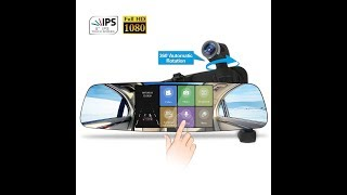 Spedal Mirror Dash Cam 1080p