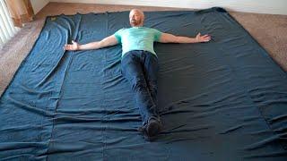 Big Blanket Review: 100 Square Foot Blanket?