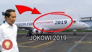 Pesawat Bertuliskan Jokowi 2019 Ini Milik Pengusaha Indonesia, Siapa Dia?Jet Pribadi Orang Indonesia