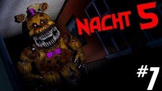 Five Nights at Freddy's 4 | #7: Die brutale fünfte Nacht!  [German/Facecam]