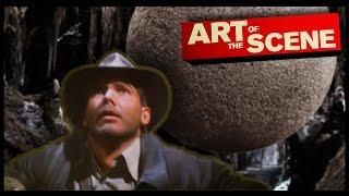 Raiders of The Lost Ark's Boulder - Art of the Scene