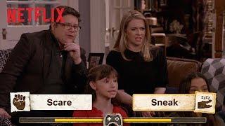 The Cast Of No Good Nick Plays You Vs. Wild | Netflix