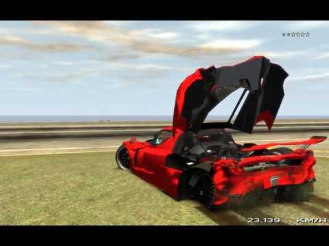 Teste físico da Ferrari Enzo no GTA IV