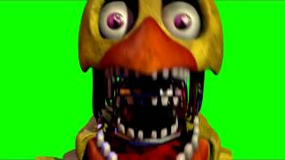18     Five Nights at Freddy's 2 Chica JumpScare Green Screen