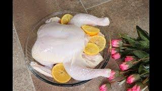 طريقة تنظيف الدجاج والتخلص من الزفارة نهائيا للسلق او الشوي مع رباح محمد ( الحلقة 414 )