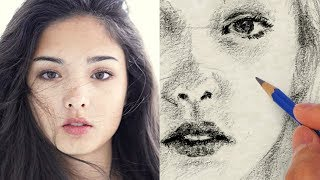 How to Draw a Pretty Face