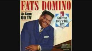 FATS DOMINO - AIN'T THAT A SHAME 1955
