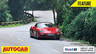 Mobil 1 Presents Great Car Great Road | Porsche Boxster S | Autocar India
