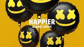 Marshmello ft. Bastille - Happier (Blanke Remix)
